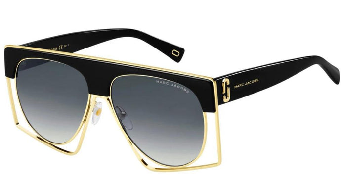 Marc Jacobs 312S Black Oversized Sunglasses