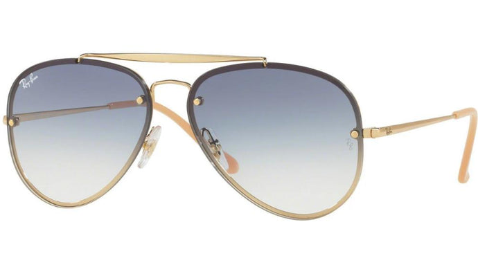 Ray Ban 3548N Blaze Aviator in Gradient Blue