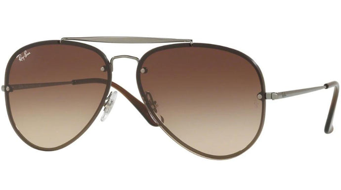 Ray Ban 3548N Blaze Aviator in Brown
