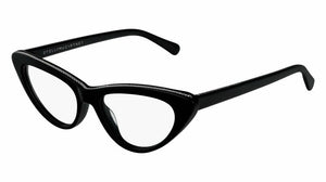 Stella McCartney SC0190O Black Cat Eye Eyeglasses Frames