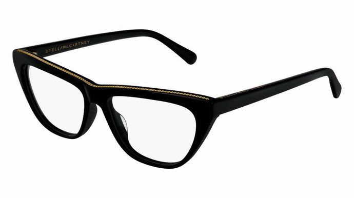 Stella McCartney SC0191O Black Cat Eye Eyeglasses Frames