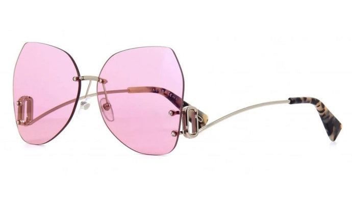 Marc Jacobs 373S Rimless Low Leg Sunglasses in Pink