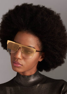 Tom Ford Winter Limited Edition Gold Plated Sunglasses in Yellow Gold