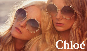 Chloe CE114S Carlina Sunglasses in Brown Gradient