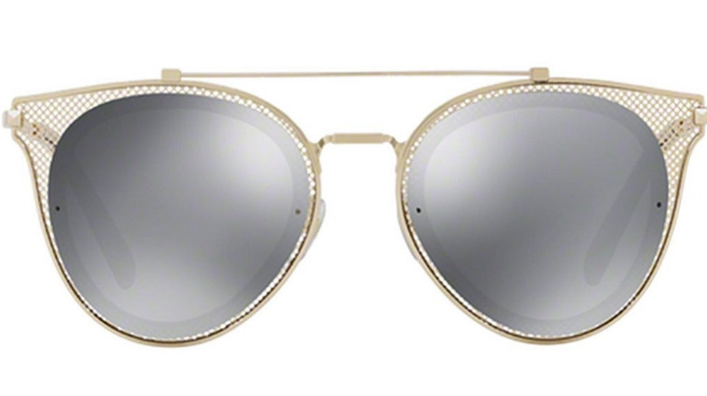 Valentino 2019 Chain Mesh Aviator Sunglasses