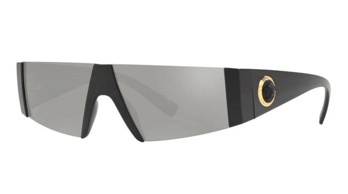 Versace VE4360 Shield Silver Medusa Sunglasses