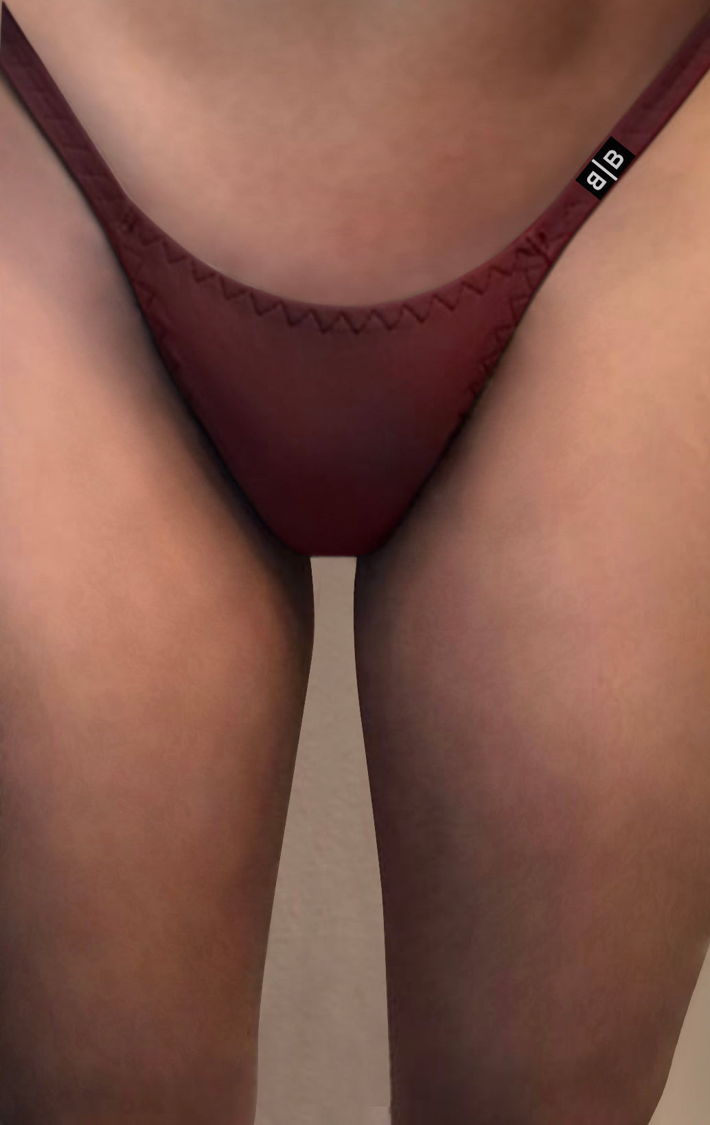 Red Tuck Thong