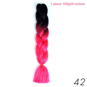 100g 24 Inch Synthetic Braiding Hair Extension
