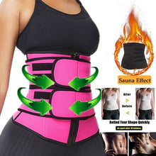 Load image into Gallery viewer, Waist Trainer Corset Trimmer Belt