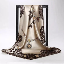 Load image into Gallery viewer, Silk Satin Neck Scarf For Women