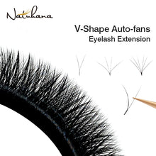 Load image into Gallery viewer, V Shape Auto-Fans Eyelash Extension
