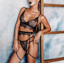 Load image into Gallery viewer, Kiki See-Through Lace Lingerie