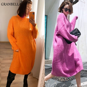 Granbella Loose Knitted Dress