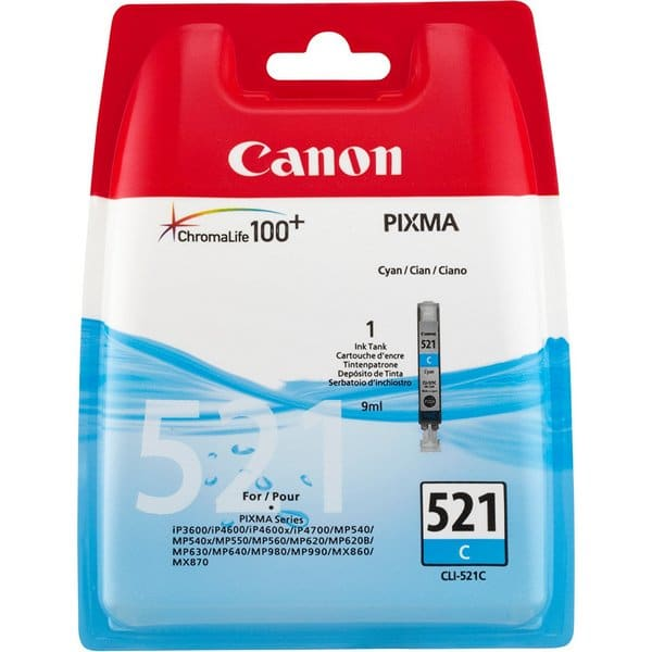 Canon CL 521 Ink Cartridges