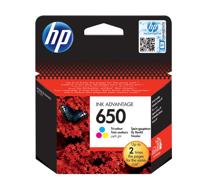 HP 650 Cartridges