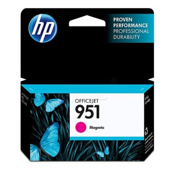 HP 951 Standard and XL Cartridges