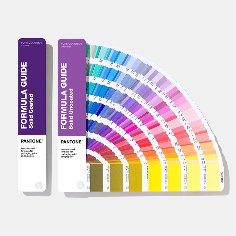Pantone Formula Guide Coated and Uncoated