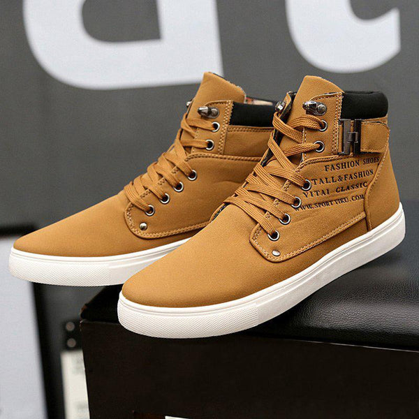 Men High Sneakers (2 types, 6 colors)