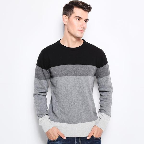 Classic Knitted Sweater (3 colors)