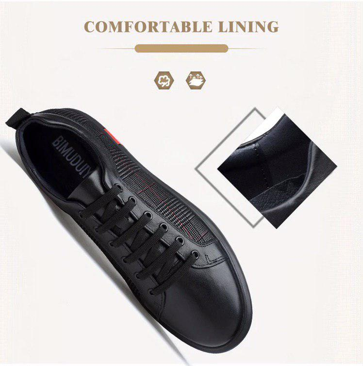 Fashion Flats Leather Sneakers (2 colors)