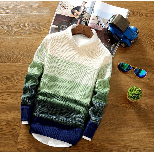 Casual Knitted Sweater (3 colors)