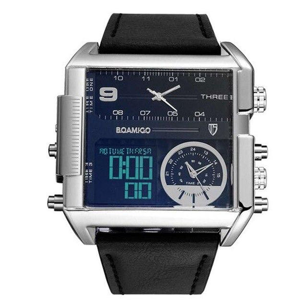 Square Military Watch (5 colors)
