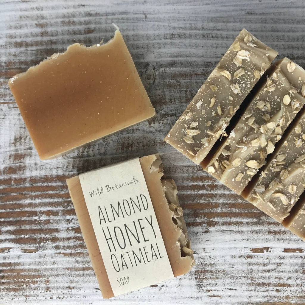 Almond Honey Oatmeal Soap
