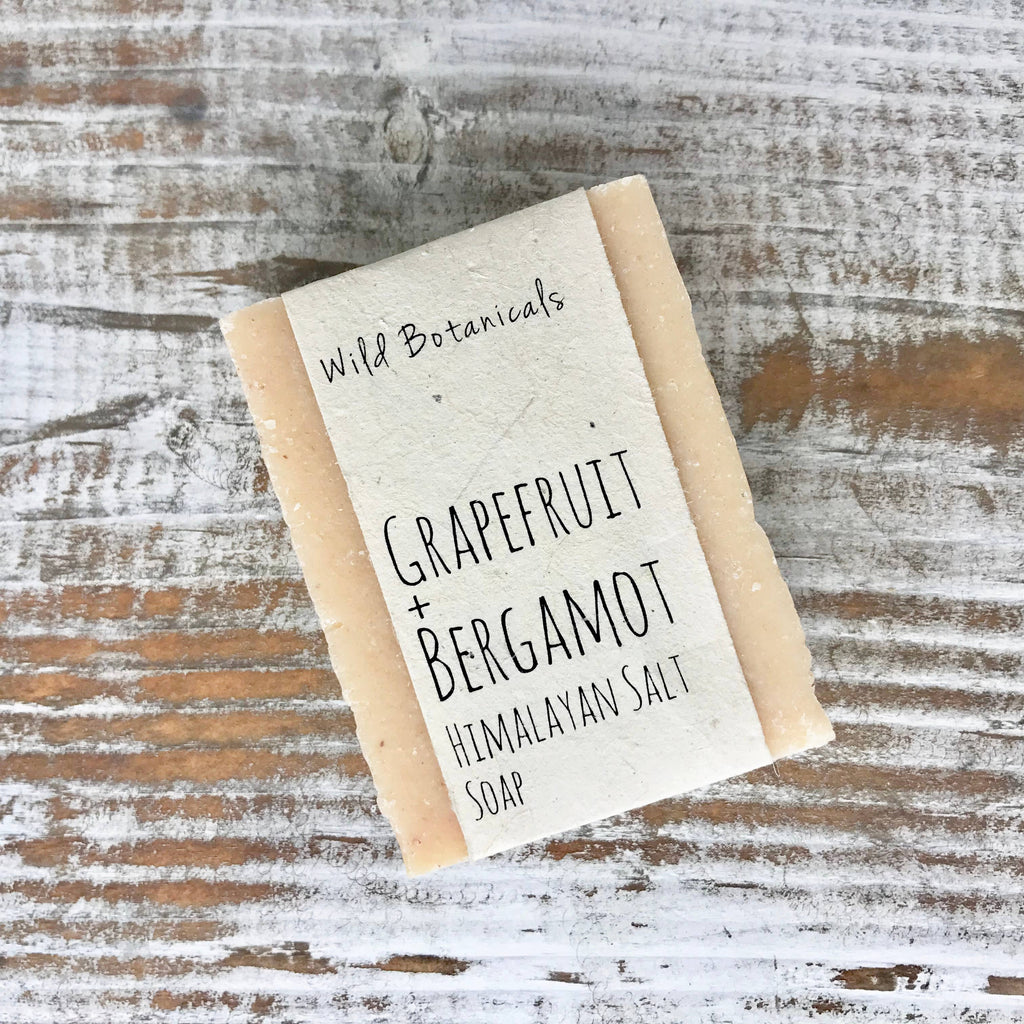 Grapefruit Bergamot Himalayan Salt Soap
