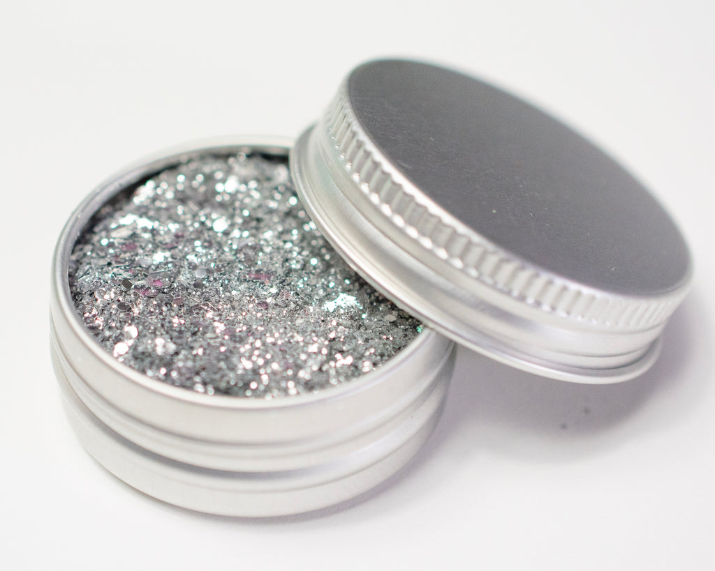 Fine Silver Mix - Biodegradable Glitter - Atomic Polish