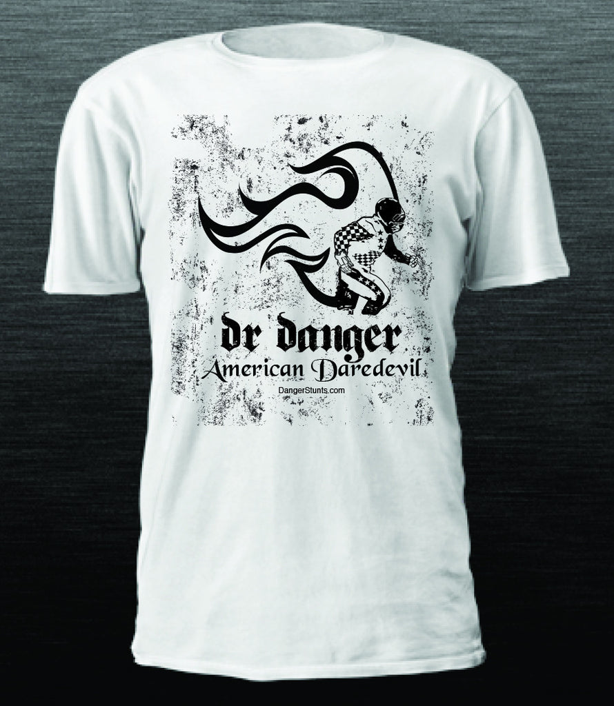DR DANGER AMERICAN DAREDEVIL - MAN ON FIRE **SOLD OUT**