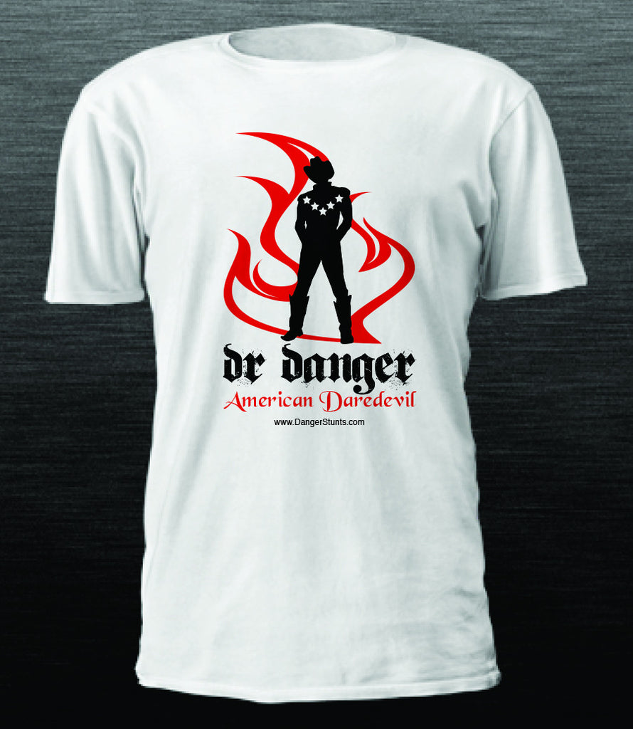 DR DANGER AMERICAN DAREDEVIL - SILHOUETTE LOGO ** SOLD OUT**