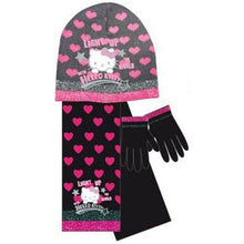 Load image into Gallery viewer, Kids Girls Hello Kitty Light Up Scarf Gloves Set