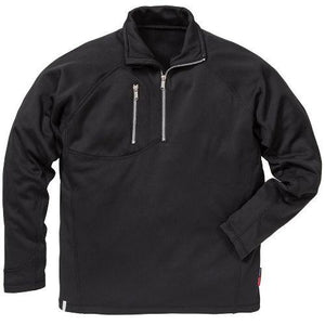 Mens Half Zip Sweatshirt Water Repellent Jumper