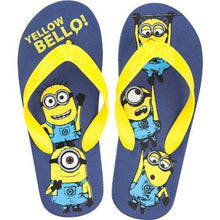 Load image into Gallery viewer, Boys Licenced Minions Flip Flops