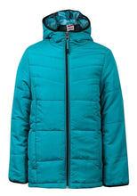 Load image into Gallery viewer, Boys Jade Green Hooded Padded Winter Coat