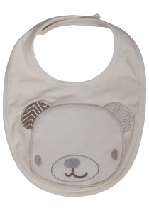 Baby Teddy Bear Cotton Bibs