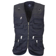 Load image into Gallery viewer, Multi Pocket Utility Vest