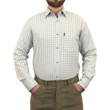 Load image into Gallery viewer, Blue Game Tattersall Long Sleeve Collared Check Shirt
