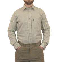 Load image into Gallery viewer, Brown & Green Game Tattersall Long Sleeve Check Shirt