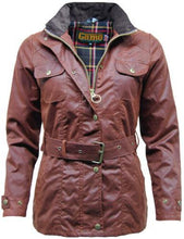 Load image into Gallery viewer, Ladies Game Blaze Belted Premium Wax Jacket Hunting Fishing Coat