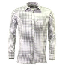 Load image into Gallery viewer, Green Game Tattersall Long Sleeve Check Shirt