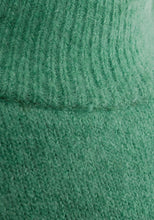 Load image into Gallery viewer, Green High Neck Soft Knitted Jumper Dress