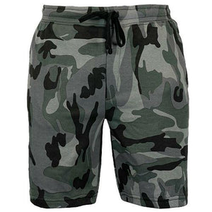 Mens Game Camouflage Fleece Angling Fishing Shorts