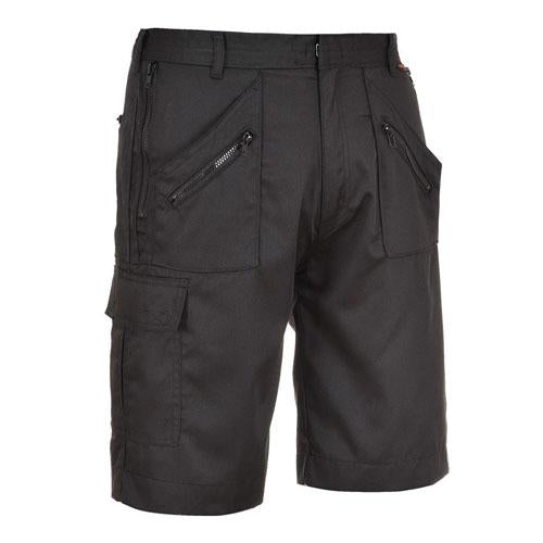 Men's Portwest Action Multi Pocket Cargo Work Shorts