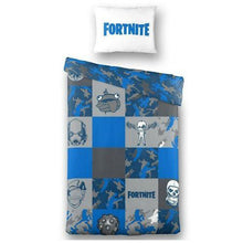 Load image into Gallery viewer, Licenced Fortnite Cotton Reversible Duvet Cover & Pillowcase
