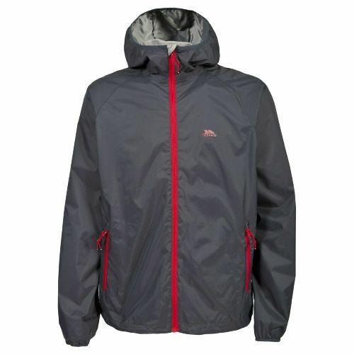 Mens Trespass Rocco II 5000mm Rain Jacket