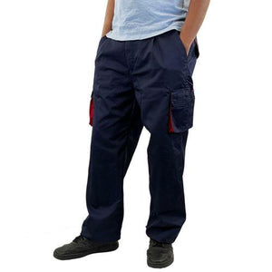 Clearance Mens Multi Pocket Cargo Trousers