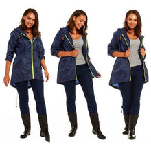 Load image into Gallery viewer, Ladies RainyDays Showerproof Fishtail Raincoat