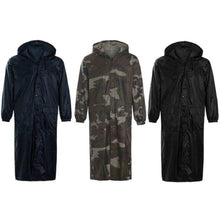 Load image into Gallery viewer, Unisex Long Plain Waterproof Rain Coat