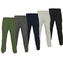 Load image into Gallery viewer, Men's Urban Road Plain Jogging Bottoms